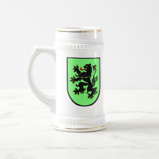 German Lion (black on green) syein Beer Stein
