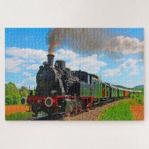 German Locomotive Trains. Jigsaw Puzzle