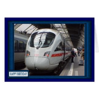 German long distance train card
