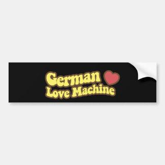 German Love Machine Bumper Sticker