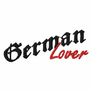 German Lover Embroidered Shirt Embroidered Polo Shirt