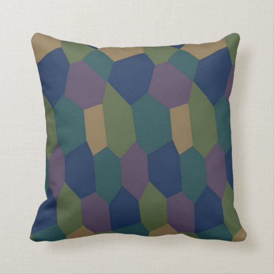 German Lozenge Camouflage Pillow Zazzle Com