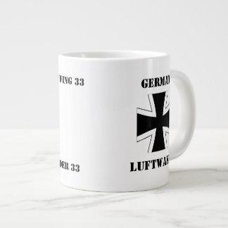 German Luftwaffe Jagdbombergeschwader 33 Mug 20 Oz Large Ceramic Coffee Mug