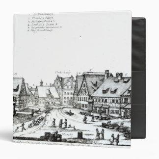 German Market town, 1704 Vinyl Binders