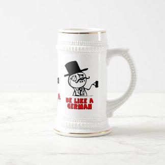 German MEME Beer Mug Jarra De Cerveza