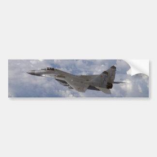 german MiG-29 Fulcrum Car Bumper Sticker