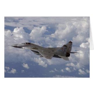 german MiG-29 Fulcrum Card