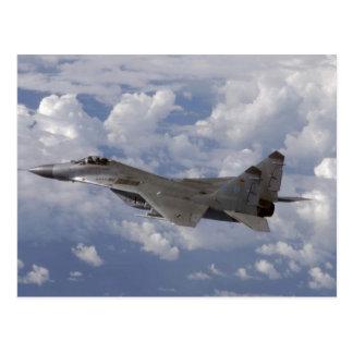 german MiG-29 Fulcrum Postcard