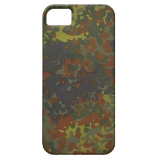 German military Fleck camouflage iPhone 5 Covers
