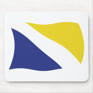 German Minority of Northern Schleswig Flag Mousepa Mouse Pad