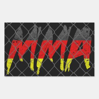 German MMA Sticker