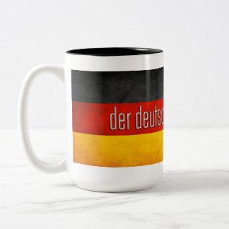 German Mod Scene Two-Tone Coffee Mug