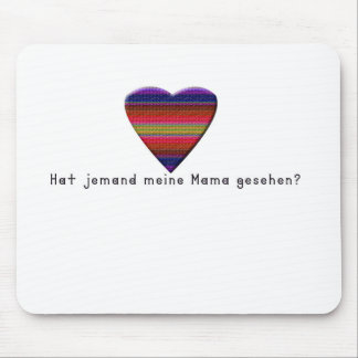 German -Mommy Mouse Pad