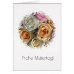 german mother's day pastel roses cards