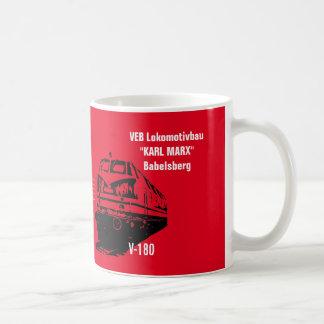 German National Railroad GDR Design Coffee Mug
