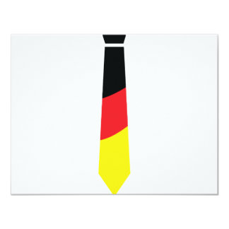 german necktie icon card