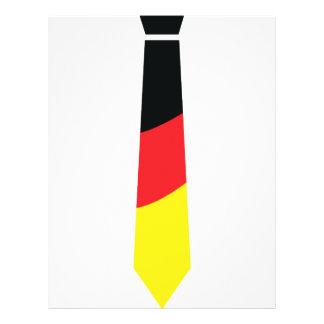 german necktie icon flyer