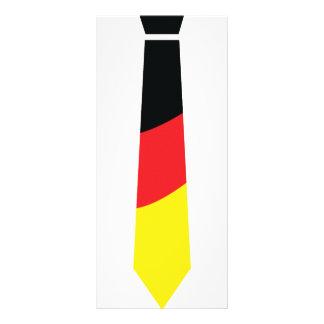 german necktie icon rack cards