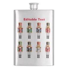 German Nutcrackers Flask