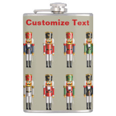 German Nutcrackers Flask