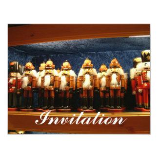 German Nutcrackers 4.25x5.5 Paper Invitation Card