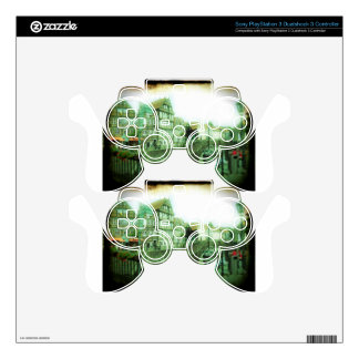 german old town PS3 controller decals