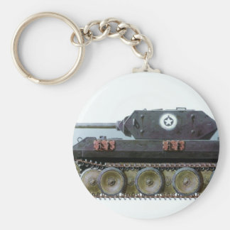 GERMAN PANTHER TANK DISGUISED TO LOOK AMERICAN KEYCHAIN
