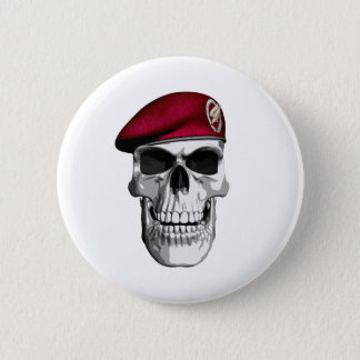 German Paratroopers Pinback Button