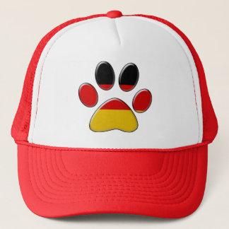 German patriotic cat trucker hat