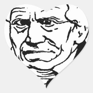 German philosopher Arthur Schopenhauer by Felix Heart Sticker