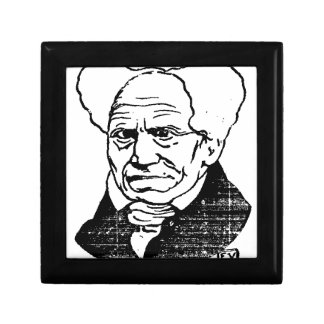 German philosopher Arthur Schopenhauer by Felix Jewelry Box