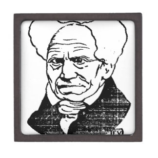 German philosopher Arthur Schopenhauer by Felix Keepsake Box