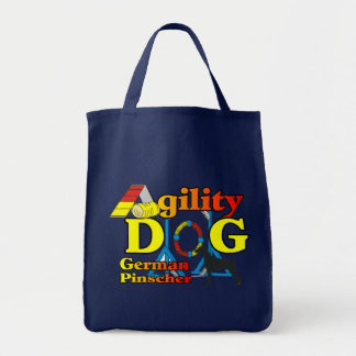 German Pinscher Agility Gifts Tote Bag