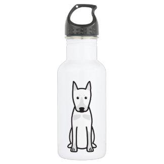 German Pinscher Dog Cartoon 18oz Water Bottle