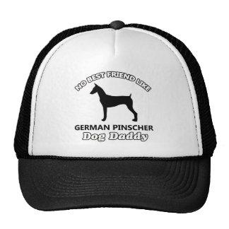 German Pinscher Dog Daddy Trucker Hat