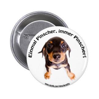 German Pinscher Fan Button
