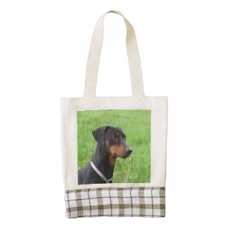 german pinscher.png zazzle HEART tote bag