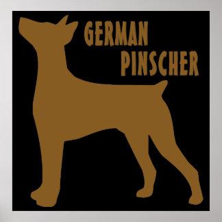 German Pinscher Poster