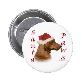 German Pinscher Santa Paws Pin