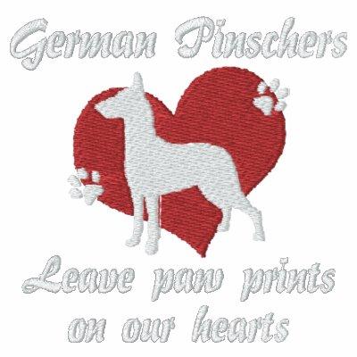 German Pinschers Leave Paw Prints