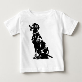 German Pointer Silhouette Baby T-Shirt