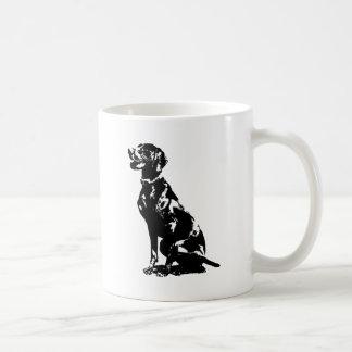 German Pointer Silhouette Coffee Mug
