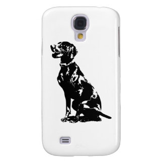 German Pointer Silhouette Samsung Galaxy S4 Cover