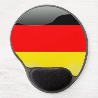 German polished flag gel mouse pad