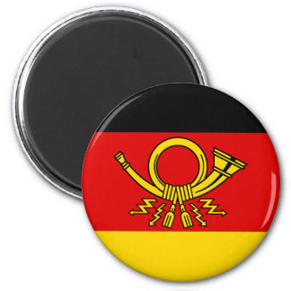 German Post Minister, Germany flag Magnet