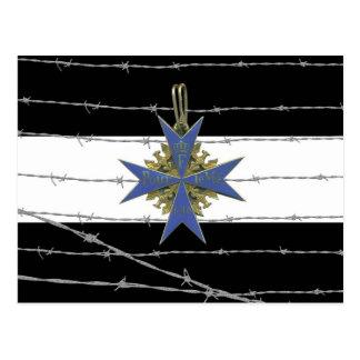 German Pour Le Merit Medal Postcard