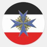 German Pour Le Merit Medal Sticker