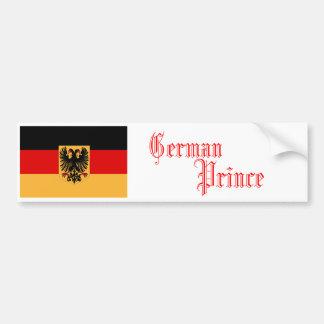 German Prince, Bumper Sticker