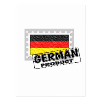 German product post card