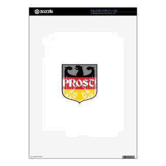 German Prost iPad 2 Skins